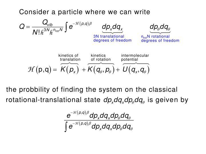 Maxwell-Bolztman distribution