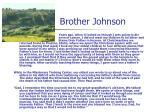 brother johnson