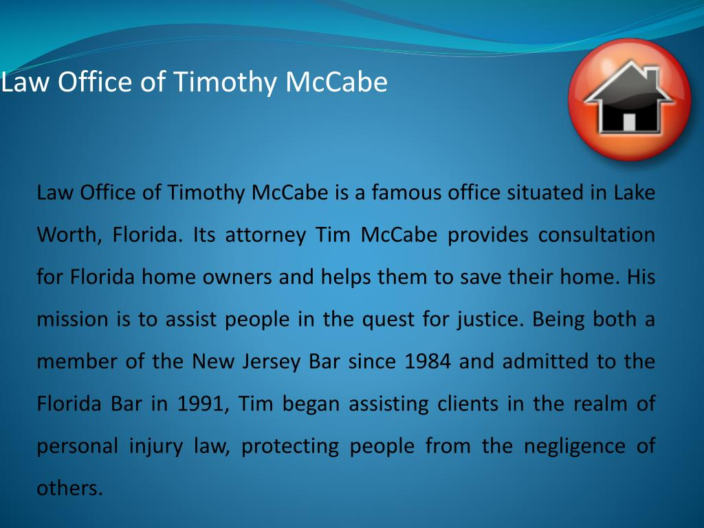 Law Office of Timothy McCabe