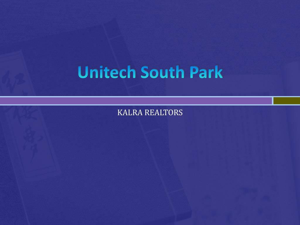 unitech south park l.