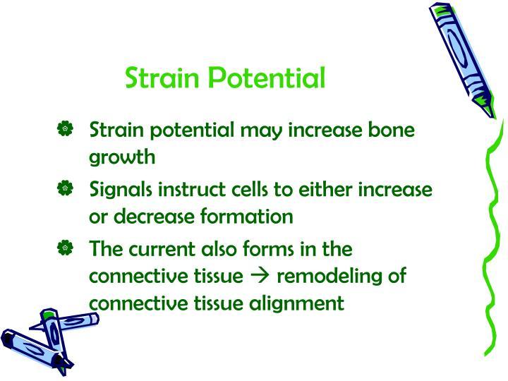 Strain Potential