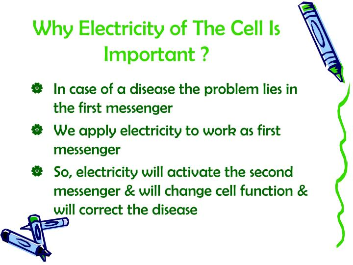 Why Electricity of The Cell Is Important ?