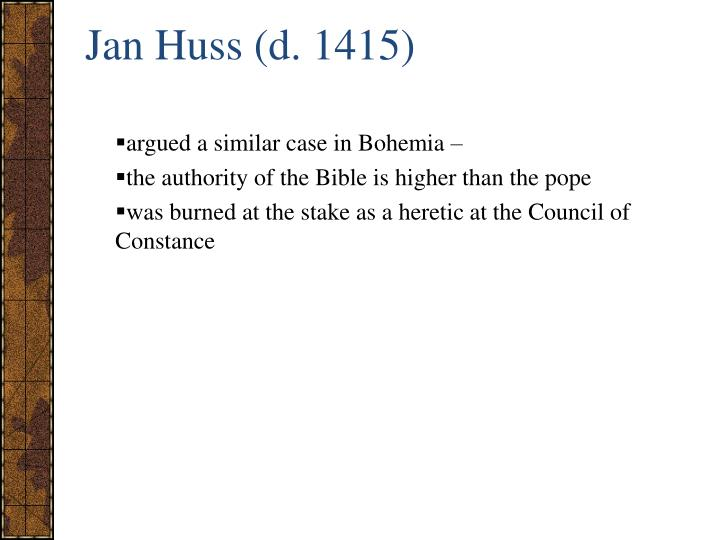 Jan Huss (d. 1415)