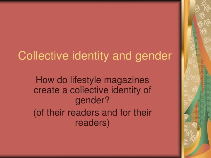 collective identity and gender n.