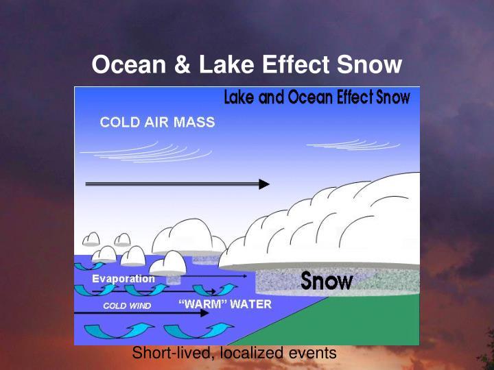 Ocean & Lake Effect Snow