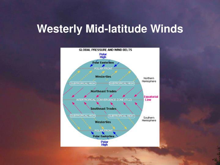 Westerly Mid-latitude Winds