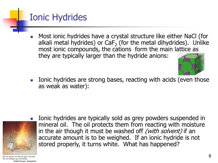 Ionic Hydrides