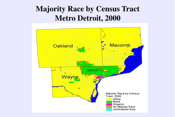 Majority Race by Census Tract