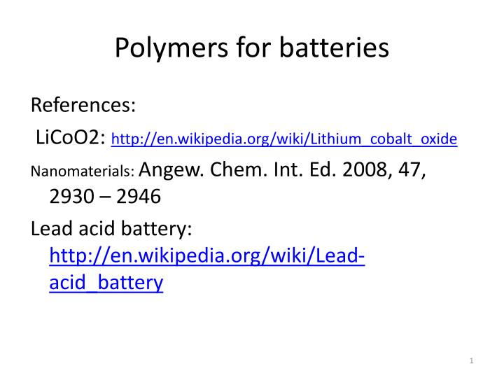 Solid electrolytes wikipedia