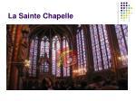 la sainte chapelle1