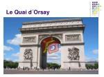 le quai d orsay