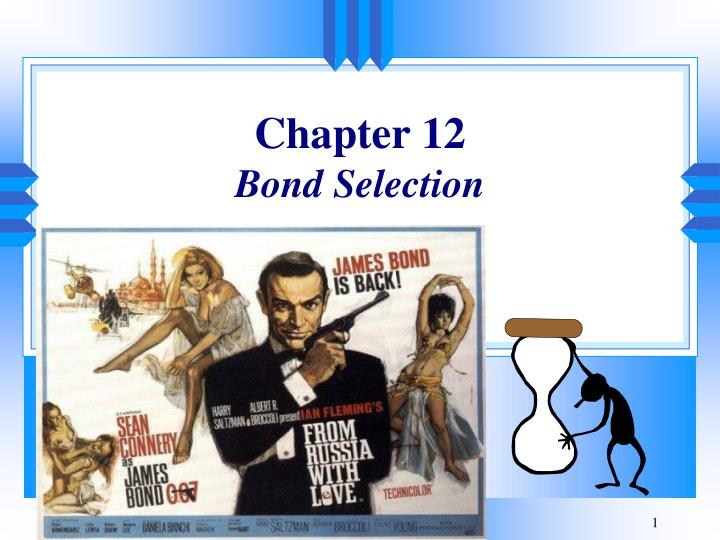 chapter 12 bond selection n.