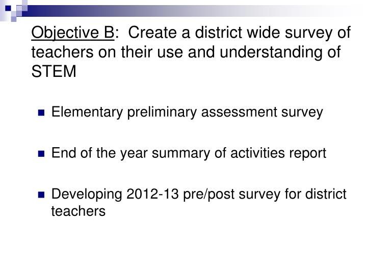 Objective B