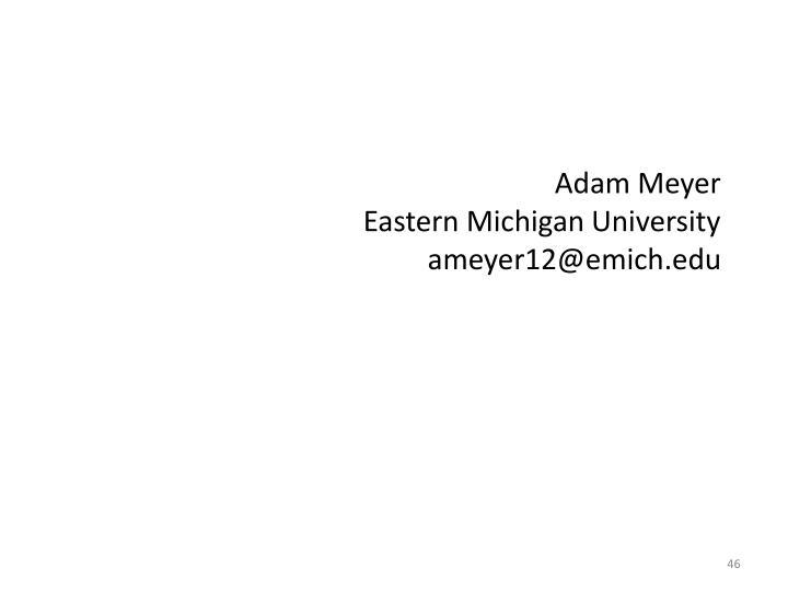 Adam Meyer