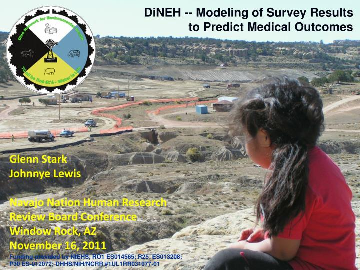 dineh modeling of survey results to predict medical outcomes n.