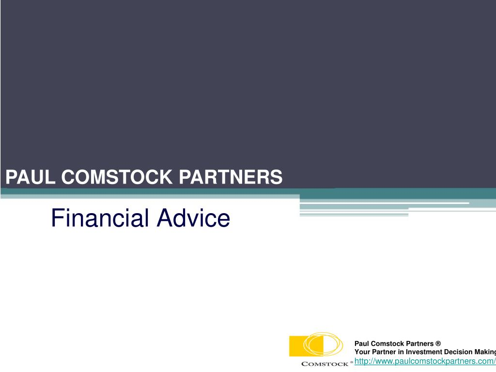financial advice l.