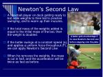 newton s second law27