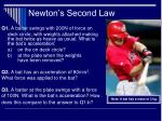 newton s second law28