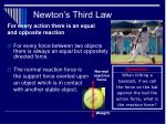 newton s third law