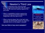 newton s third law31