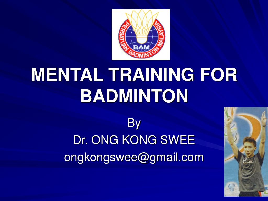 mental training for badminton l.
