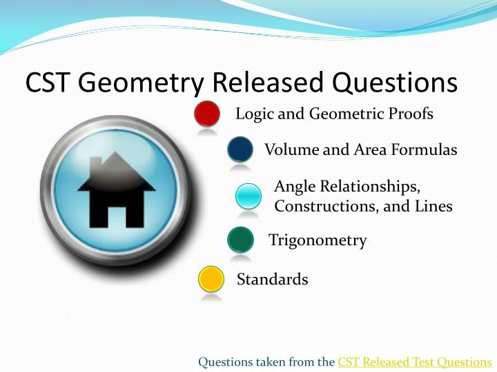 cst geometry released questions n.
