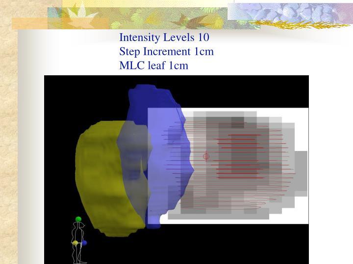 Intensity Levels 10