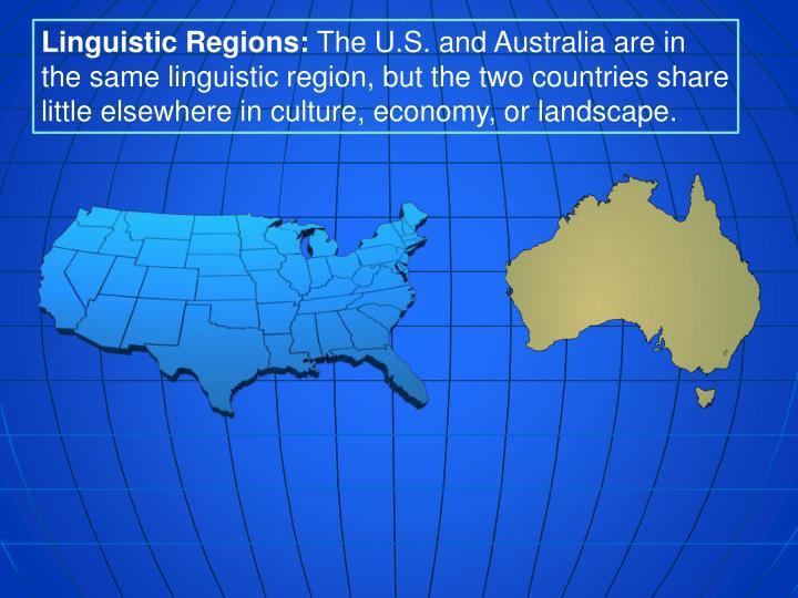 Linguistic Regions: