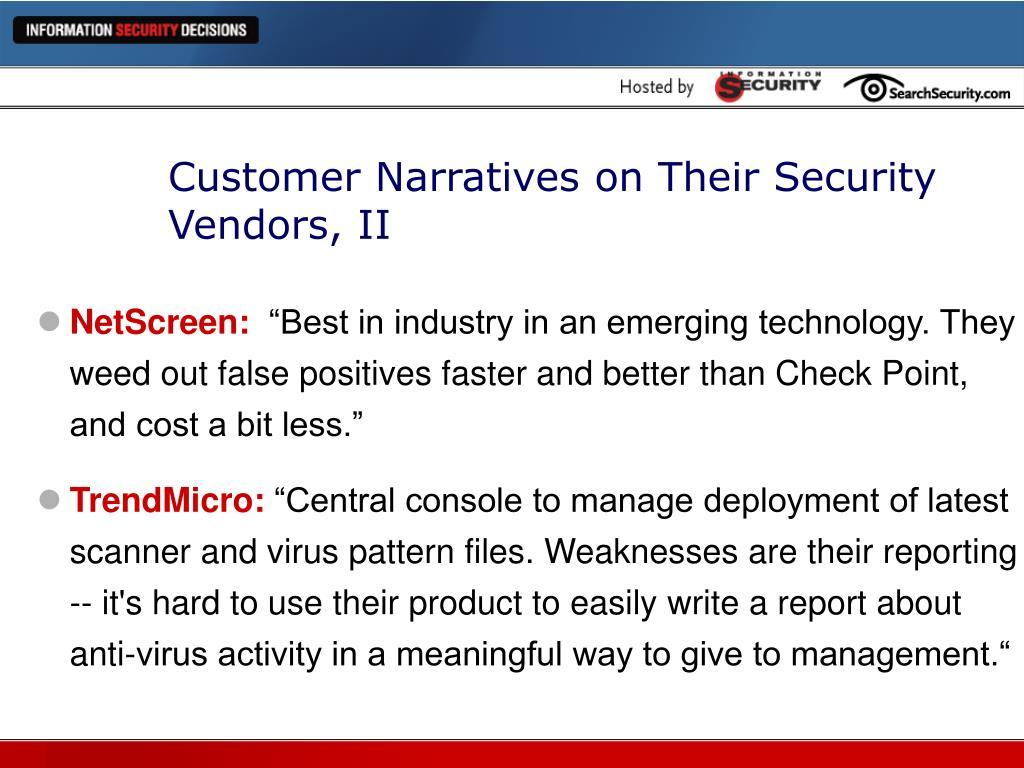 PPT - Buyer Beware: 2004 Vendor Report Card PowerPoint Presentation