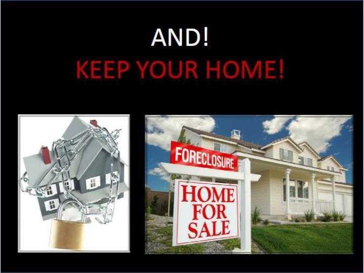 Gary bobel helps to avoid foreclosure