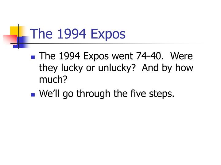The 1994 Expos