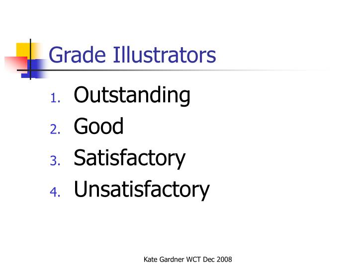 Grade Illustrators
