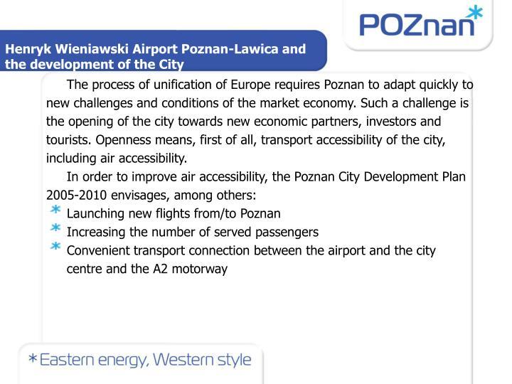 Henryk Wieniawski Airport Poznan-