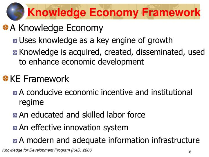 Knowledge Economy Framework