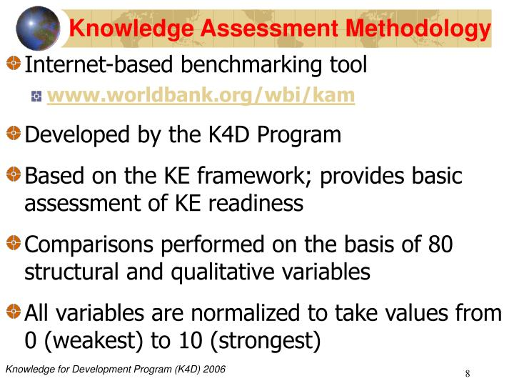 Knowledge Assessment Methodology