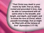 ephesians 3 17 19