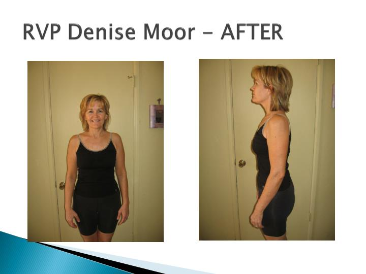 RVP Denise Moor - AFTER