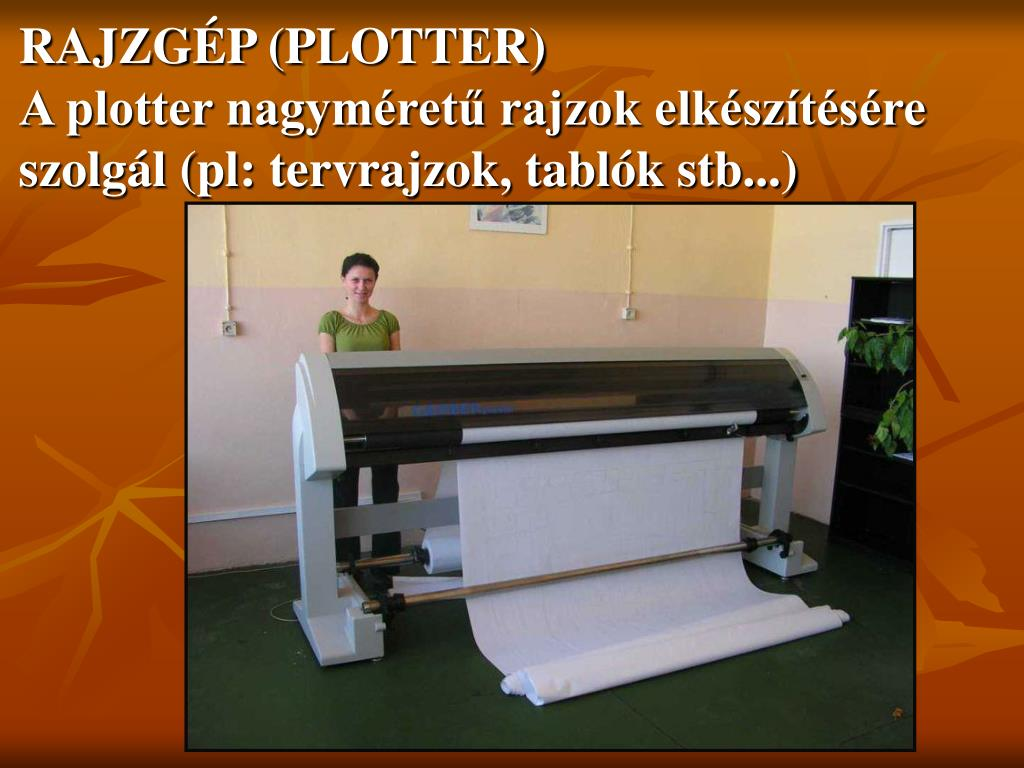 RAJZGÉP (PLOTTER)