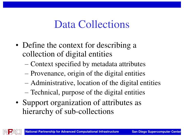 Data Collections