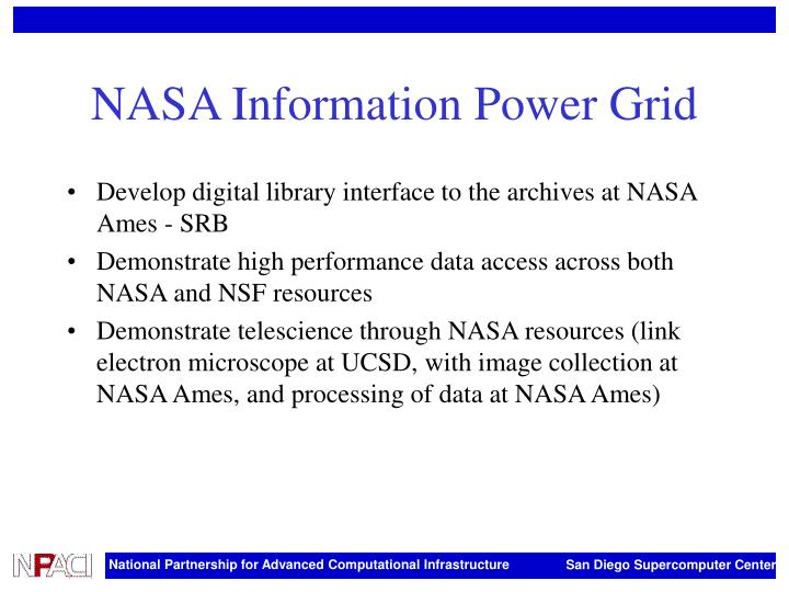 NASA Information Power Grid