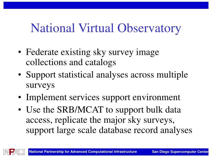 National Virtual Observatory