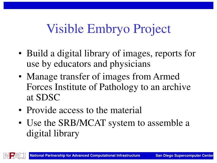 Visible Embryo Project