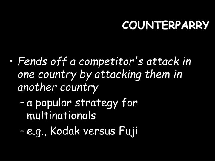 COUNTERPARRY