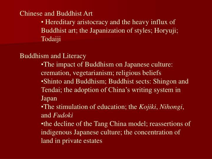 Chinese and Buddhist Art