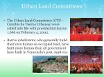 urban land committees