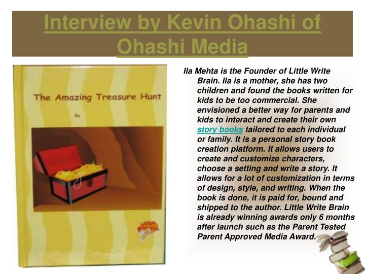 Interview by kevin ohashi of ohashi media