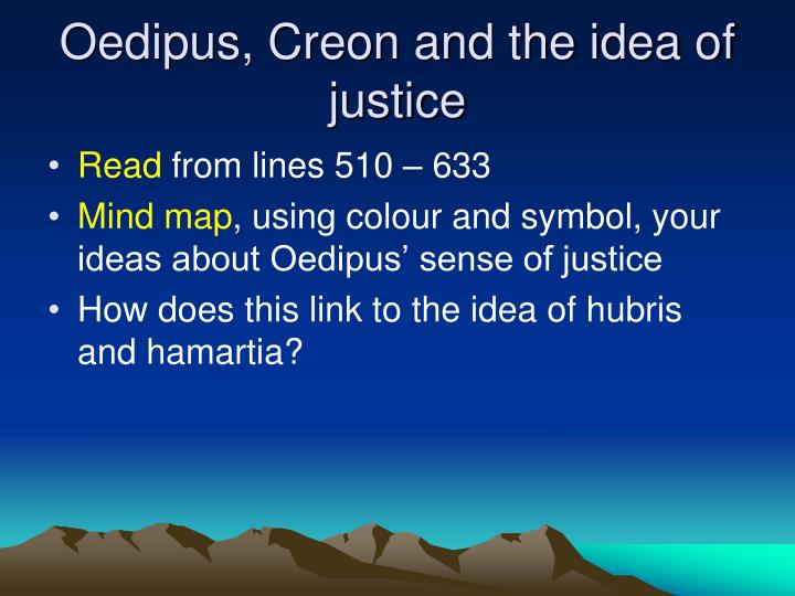 oedipus and creon