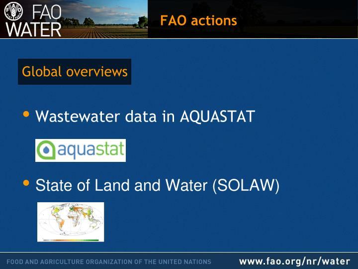 wastewater data