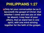 philippians 1 27