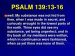 psalm 139 13 161